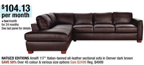 Terrific Natuzzi Editions Amalfi 117 Italian Tanned All Leather Dailytribune Chair Design For Home Dailytribuneorg