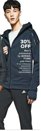 Adidas, Puma Men's Activewear
