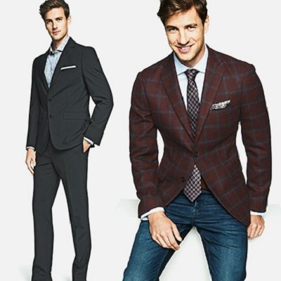 Take Up to 50% Off Men's Suiting!