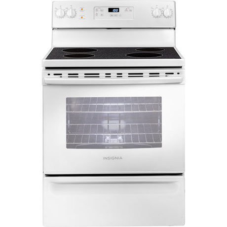 Insignia 5 Cu.Ft. Freestanding Smooth Top Electric Range