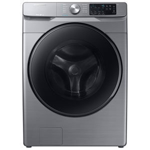 Samsung 5.2 Cu.Ft. Front Load Steam Washer, 7.5 Cu.Ft. Electric Steam Dryer