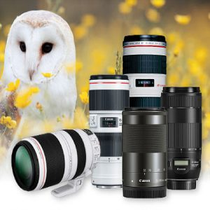Up to $300 off Select Telephoto Zoom Lenses