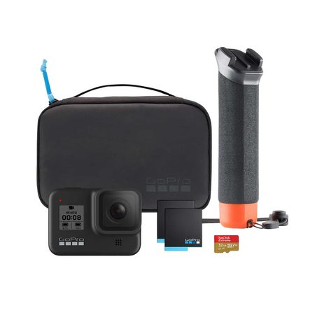 Get a GoPro HERO8 Black Camera Bundle for $430!