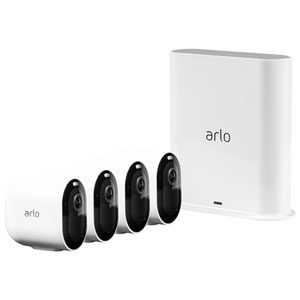 Arlo Pro 3 Wire-Free Security System With 4 Cameras