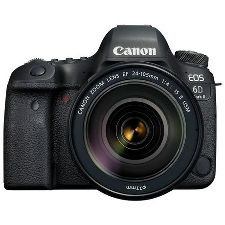 Canon EOS 6D Mark II Full-Frame DSLR Camera 24-105mm IS USM