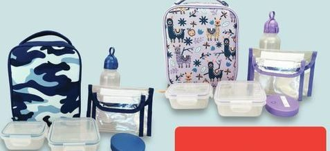 7-Piece Lunch Bag Sets