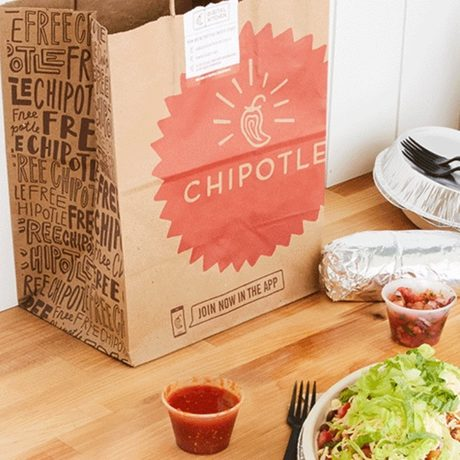 Get Free Delivery at Chipotle